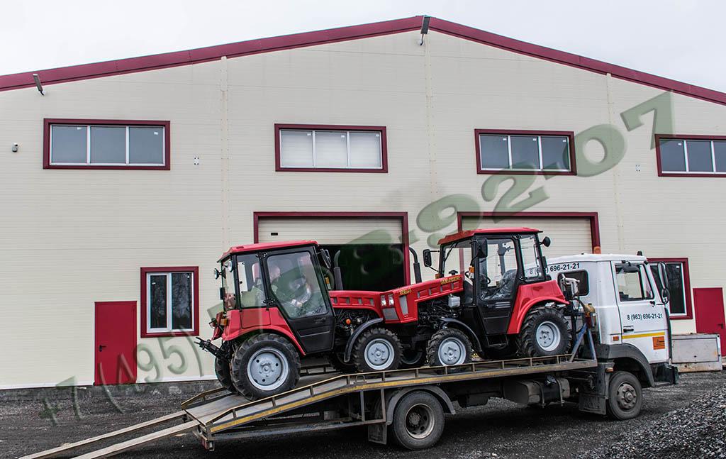 Продажа тракторов МТЗ Беларус и техобслуживание - доставка на эвакуаторе