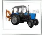 Трактор МТЗ 82.1 плюс экскаватор навесной