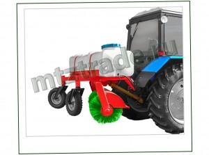 Поливочно-уборочное оборудование для МТЗ 82