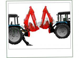 Экскаватор ЭО-2626 для тракторов Беларус