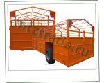 ТПС6 Прицеп для перевозки скота