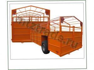 Тракторный прицеп ТПС6 Беларусь