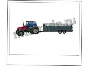 Прицепы тракторные ТПС6-01