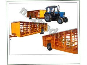 Тракторный прицеп для транспортировки индейки ППП-4