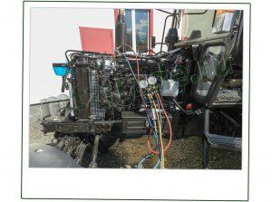 установка кондиционера МТЗ 320 ,82, Ремонт тракторов