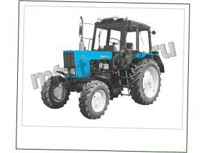 МТЗ 820 РБ - колёсный трактор производства Беларусь