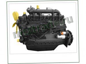 Новый двигатель ММЗ Д-260.1-407 для комбайна Нива