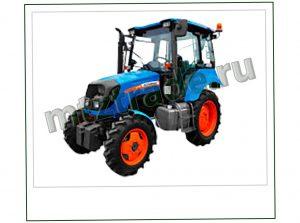 Трактор  Агромаш 60 с отвалом и щеткой