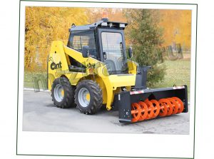 ANT 750 со снегоуборщиком роторным С173