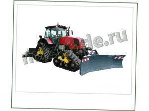 МСУ 2022 Беларус снегоуплотнительный трактор