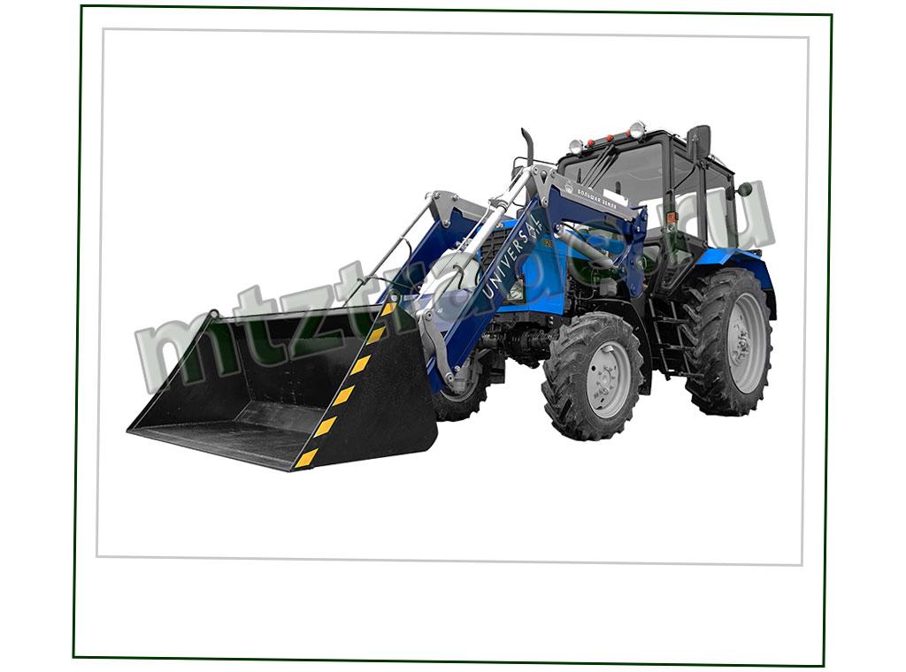 Навесной фронтальный погрузчик на трактор МТЗ - Universal VIP