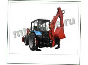 Экскаватор ЭО 2626 на базе трактора МТЗ 82